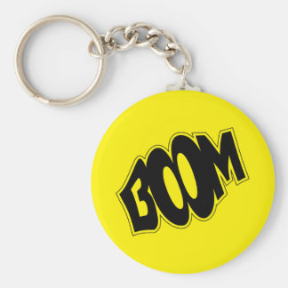 boom-147866 BOOM EXPLOSIONS COMIC FONT SHOUT EXPRE Keychain