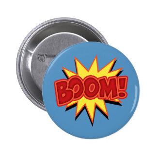 Boom! 2 Inch Round Button