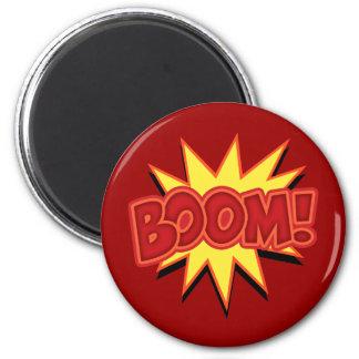 Boom! 2 Inch Round Magnet