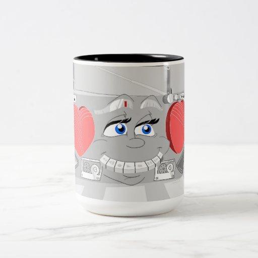 Boom Box 80's Mug