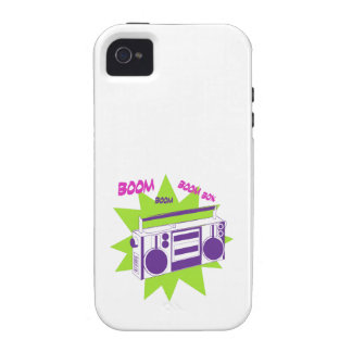 Boom Box iPhone 4/4S Cover
