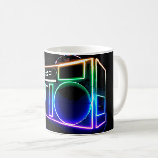 Boom Box Coffee Mug