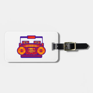 Boom Box Extreme Luggage Tag