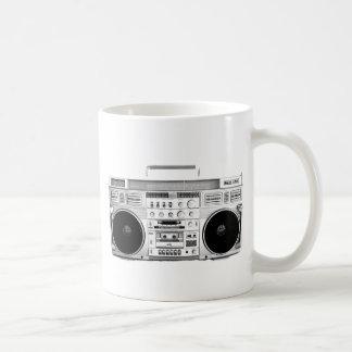Boom Box Ghetto Blaster 80s 70s Cassette player Coffee Mug