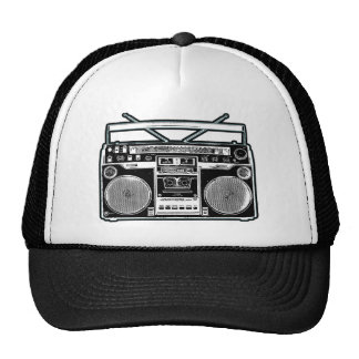 Boom Box Mesh Hat