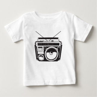 ☞ boom box Oldschool/cartridge player Baby T-Shirt