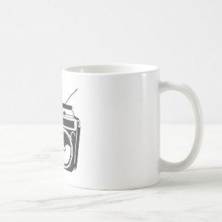 ☞ boom box Oldschool/cartridge player Coffee Mug