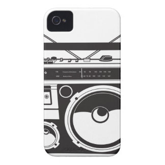 ☞ boom box Oldschool/cartridge player iPhone 4 Case