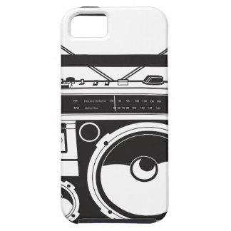 ☞ boom box Oldschool/cartridge player iPhone 5 Cases