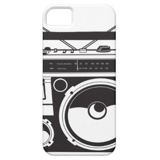 ☞ boom box Oldschool/cartridge player iPhone 5 Cover