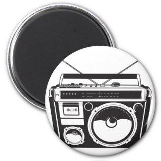 ☞ boom box Oldschool/cartridge player Magnet