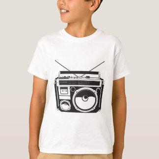 ☞ boom box Oldschool/cartridge player T-Shirt