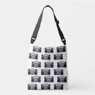 Boom Box Pattern Bag