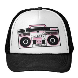 boom box trucker hats