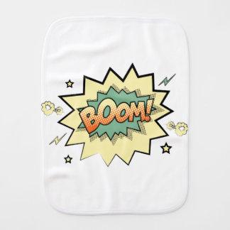boom burp cloth