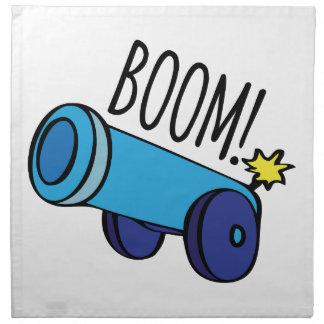 Boom Cannon Cloth Napkins