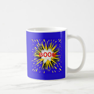 Boom Cartoon Bubble Coffee Mug