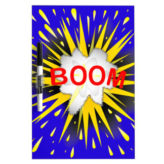 Boom Cartoon Bubble Dry Erase Board