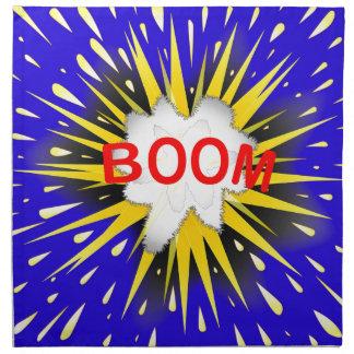 Boom Cartoon Bubble Napkin