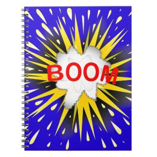 Boom Cartoon Bubble Notebook