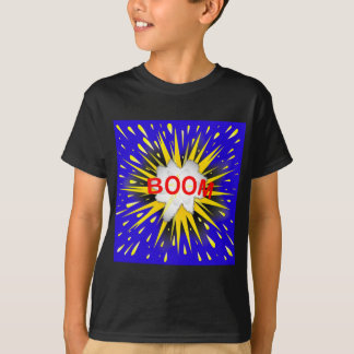Boom Cartoon Bubble T-Shirt