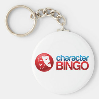 Boom Character Bingo Gear Keychain