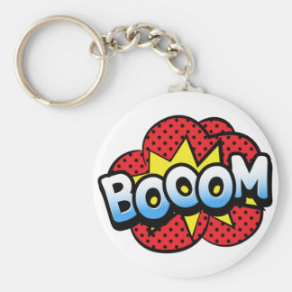 Boom dynamite keychain