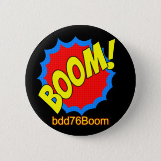 Boom! Emoticon bdd76Boom Badge 2 Inch Round Button