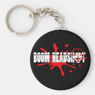 Boom   Headshot Keychain