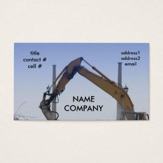 boom hydralics business card