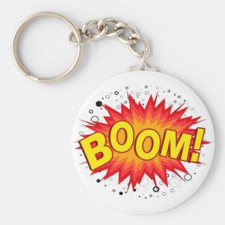 Boom! Keychain