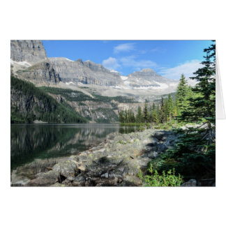 Boom Lake National Park British Columbia Canada Card