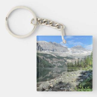 Boom Lake National Park British Columbia Canada Double-Sided Square Acrylic Keychain