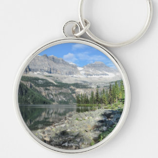 Boom Lake National Park British Columbia Canada Silver-Colored Round Keychain