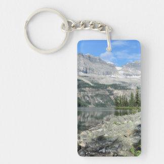 Boom Lake National Park British Columbia Canada Single-Sided Rectangular Acrylic Keychain