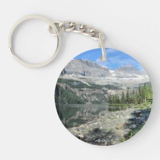 Boom Lake National Park British Columbia Canada Single-Sided Round Acrylic Keychain