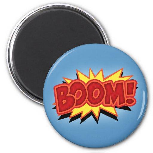 Boom! Magnets