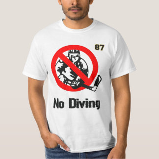 BOOM! No Diving Sid. T-Shirt
