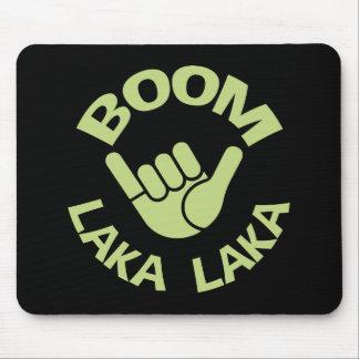 Boom Shaka Wave Mouse Pad
