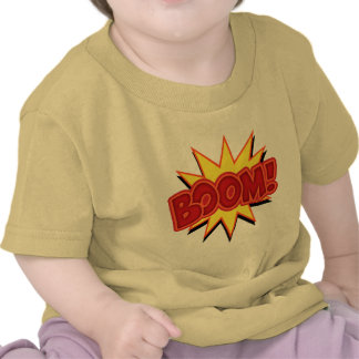 Boom! T-shirts