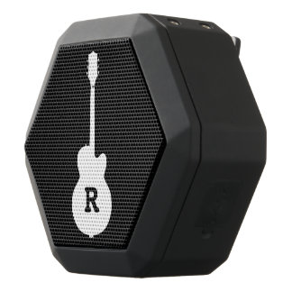 Boombot REX with personalized guitar Black Bluetooth Speaker