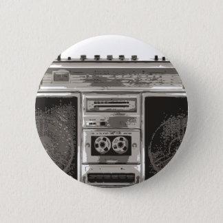 Boombox 2 Inch Round Button