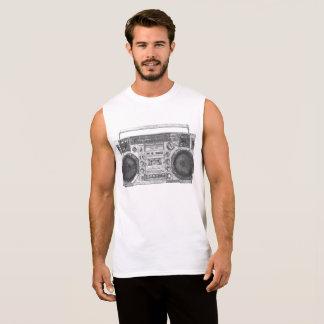 Boombox Art Sleeveless Shirt
