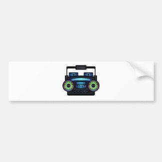 Boombox Autocollant De Voiture