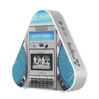 Boombox bleu haut-parleur bluetooth
