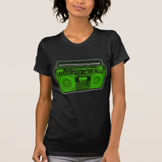 boombox ghetto blaster radio tshirts