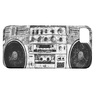 Boombox graffiti iPhone 5 cover