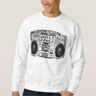 Boombox graffiti sweatshirt
