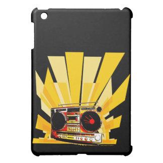 Boombox Graphic iPad Mini Case