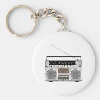Boombox Keychain